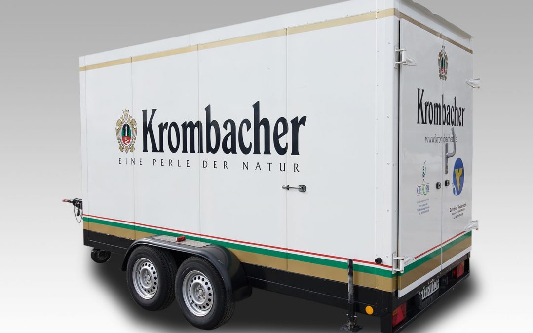 Krombacher Kühlanhänger 3,5 t Nr. 107