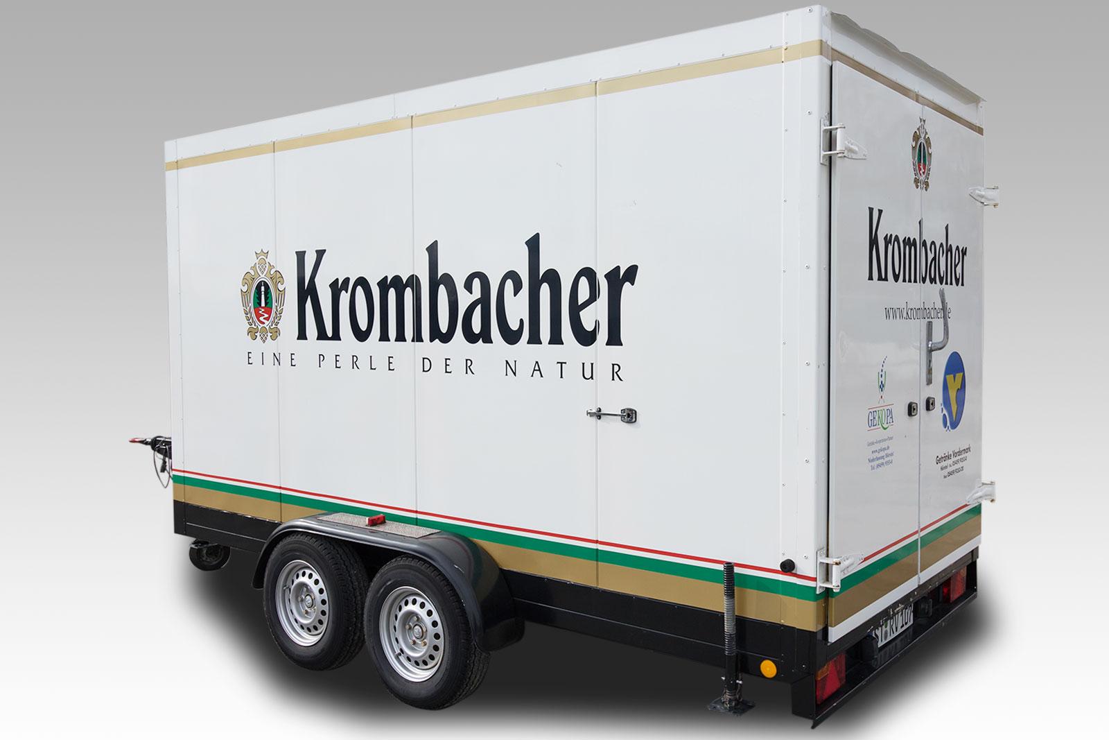 Krombacher Kühlanhänger 3,5 t Nr. 107 Bild 01